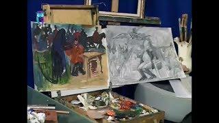 """Уроки рисования (№ 151). Эскизы к картине-диптиху """"Наполеон и Кутузов"""""""