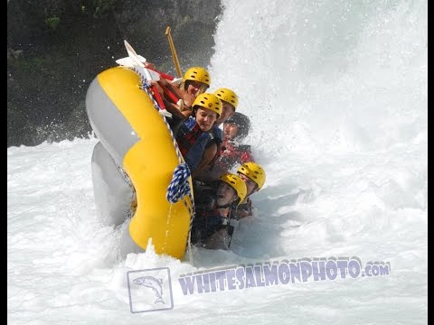 Husum Haze 2014- whitewater rafting carnage on the White Salmon river