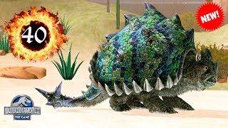 ПАНОХТУС НОВЫЙ Jurassic World The Game Panochthus