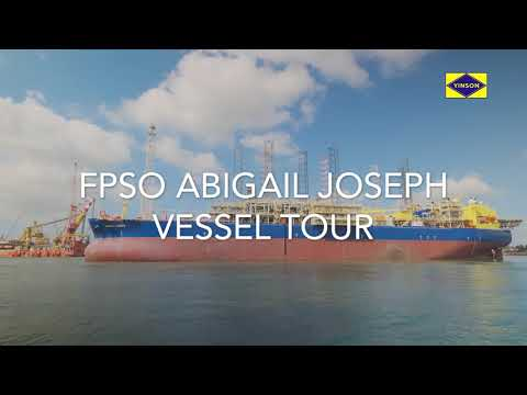 A virtual tour on board Yinson's FPSO Abigail-Joseph