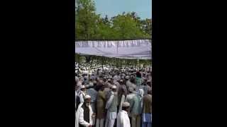 crowd gathered for sufi nizamuddin at agya basti