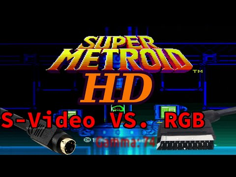 [OLD]HD SNES On A Budget: S-Video VS RGB