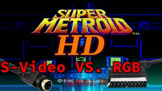 HD SNES on a Budget: S-Video VS RGB
