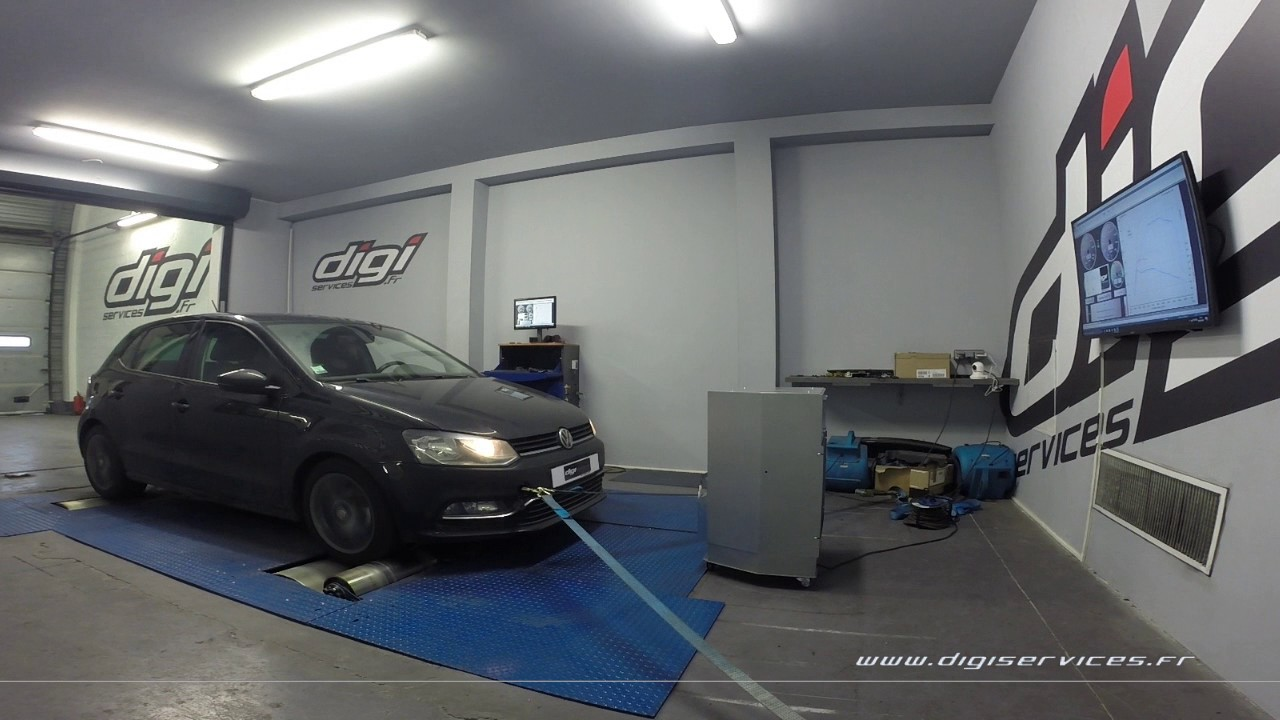 vw polo 1 2 tsi 90cv reprogrammation moteur 126cv digiservices paris 77 dyno youtube. Black Bedroom Furniture Sets. Home Design Ideas