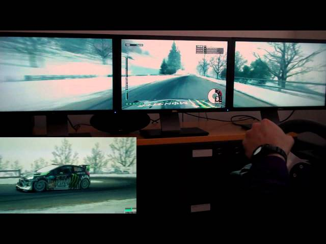 Dirt 3 Monte Carlo DLC Gameplay 1 - No Comment Run