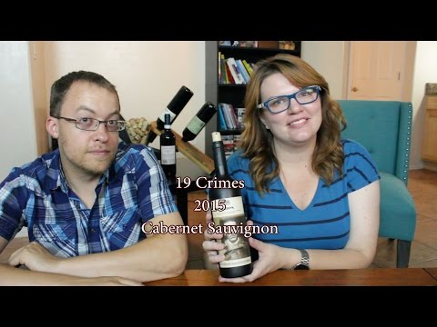 Wine Review: 19 Crimes 2015 Cabernet Sauvignon