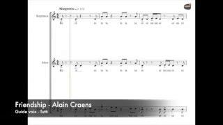 Craens, Alain - Friendship - Guide voix - Tutti