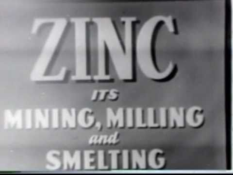 Zinc Mining At Balmat New York 1948  US Bureau Of Mines And St Joseph Lead Corporation