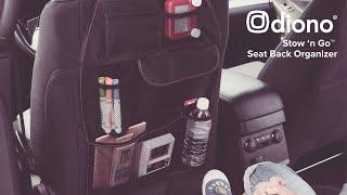 Video: Diono Stow`n Go Seatback Organizer