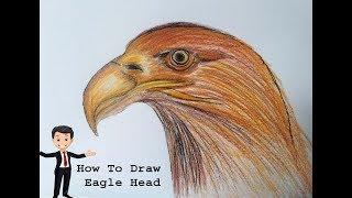 How to draw Eagle Head step by step