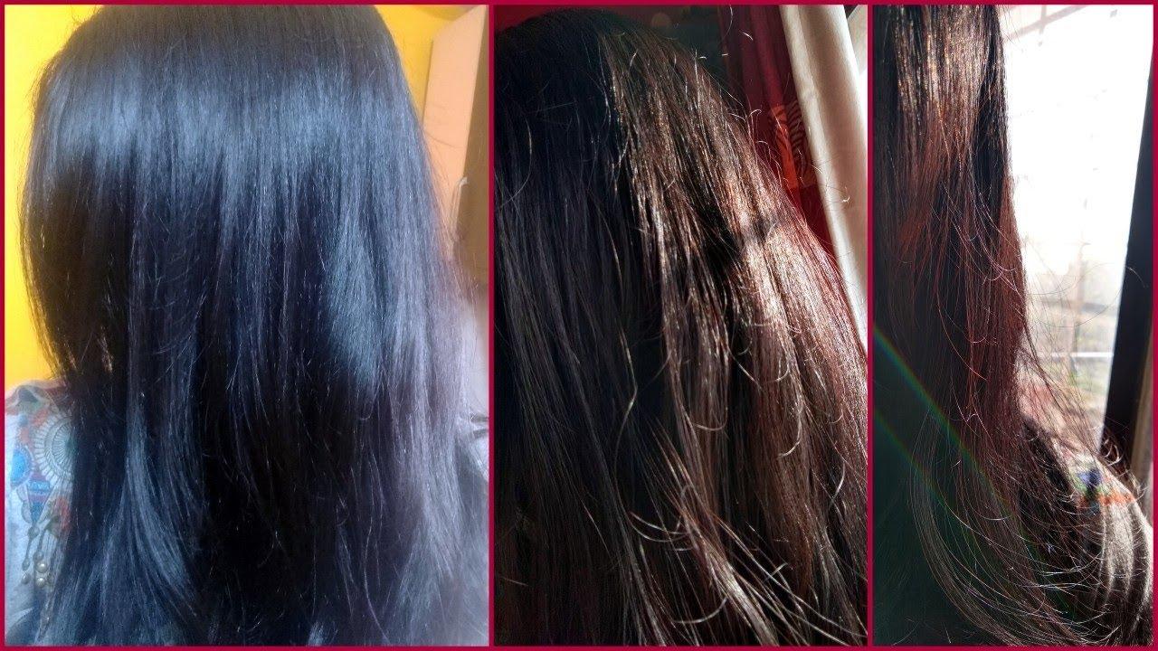 Henna Hair Dye To Get Deep Brown To Chocolate Brown Hair