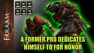 A former Pro Player dedicates himself to For Honor - Finest Orochi Gameplay [For Honor]