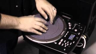Topher Stott on the Roland Handsonic HPD-20