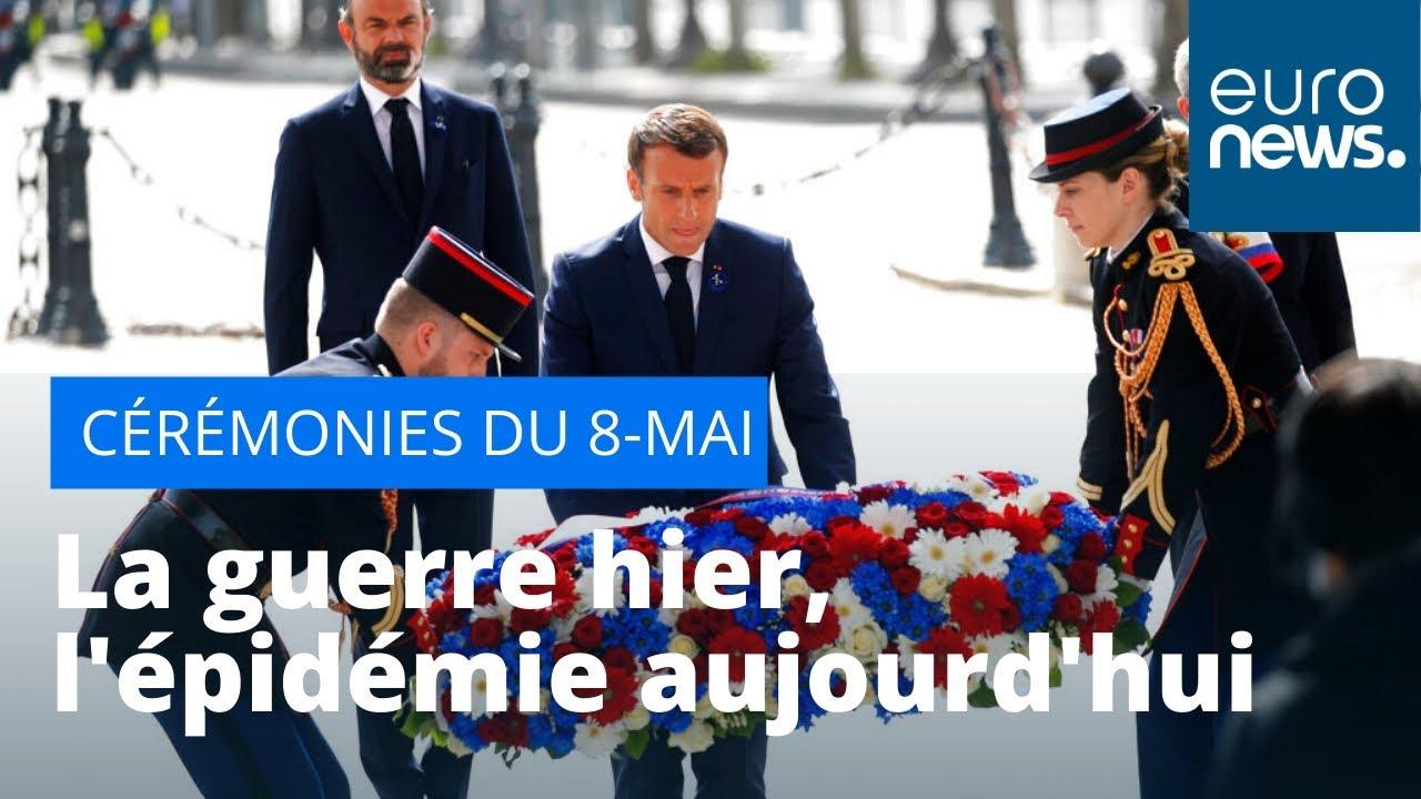 Cérémonies du 8-Mai : la guerre hier, l'épidémie aujourd'hui