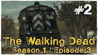 The Walking Dead - Season 1 | Episode 3 - Abandoned Train #2 (Gameplay w/Facecam)