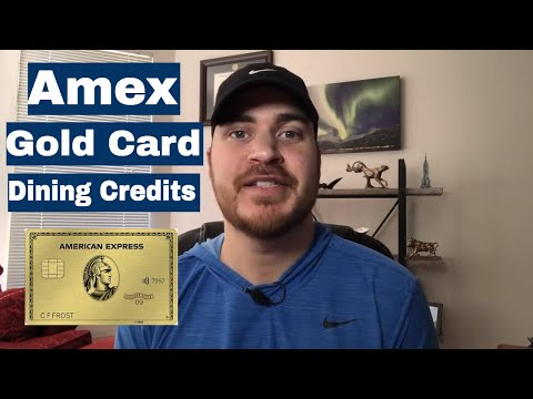 Amex Gold Card $120 Dining Credits: What To Know