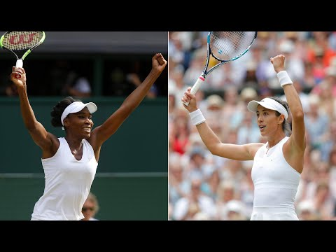 Wimbledon 2017: Venus Williams and Garbiñe Muguruza reach women's final