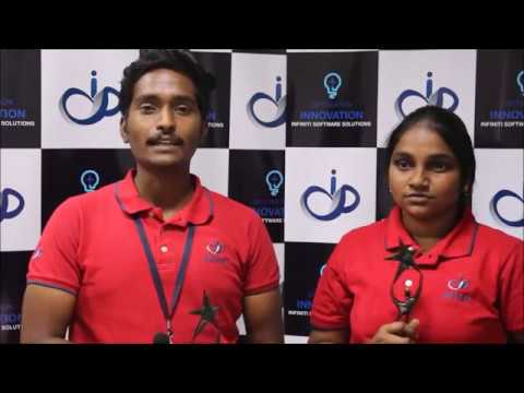 Best Fresher | Advent 2018 | Infiniti Software Solutions