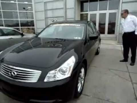 Certified Pre Owned 2009 G37x Sedan Black On Black Youtube
