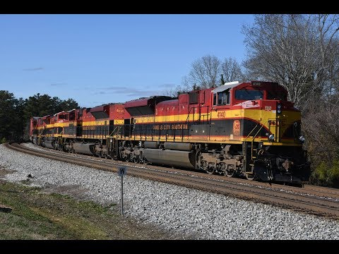 Railfanning NS ATL North & East End Districts 12/30/17: Ft. Both Honoring Our Veterans 42 & 6920