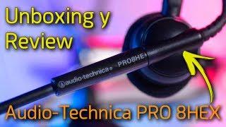 Unboxing y Review Audio Technica PRO 8HEX