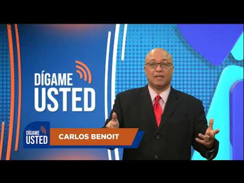Dígame Usted con Carlos Benoit / Primer Programa por Luna TV canal 53