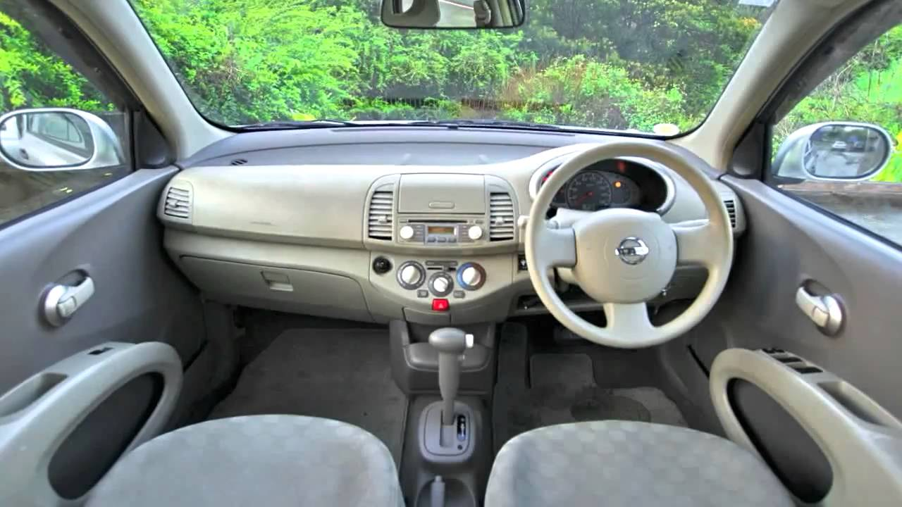 nissan march 2005 70km 1 2l auto youtube. Black Bedroom Furniture Sets. Home Design Ideas