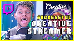 How to grow on Twitch as a Creative streamer