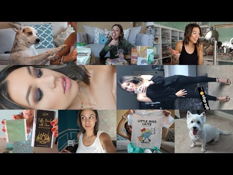 VLOG | Mommy Parole - Grooming, snack + PO BOX haul, lake fun, expanding the gallery wall!