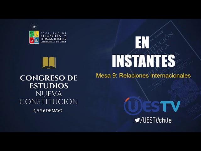 EN VIVO -  Congreso de Estudios Nueva Constitución - Mesa 8