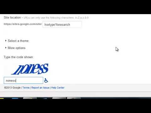 How To Make A Wiki On Google Sites