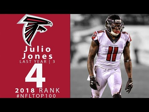 #4: Julio Jones (WR, Falcons) | Top 100 Players of 2018 | NFL