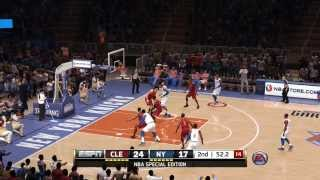 NBA Live 14 - Knicks vs Cavaliers - Full Game | PS4