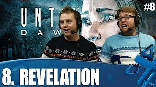 Until Dawn let's play! Chapter 8 - Revelation