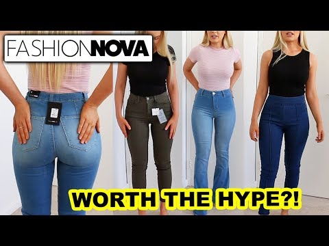 FASHION NOVA JEANS: Worth The Hype?!. http://bit.ly/2GPkyb3