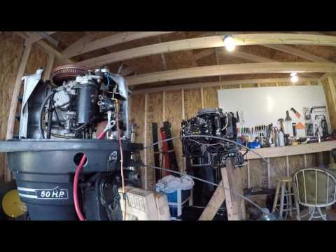 Mercury Outboard Thunderbolt 500 50 HP Part 1