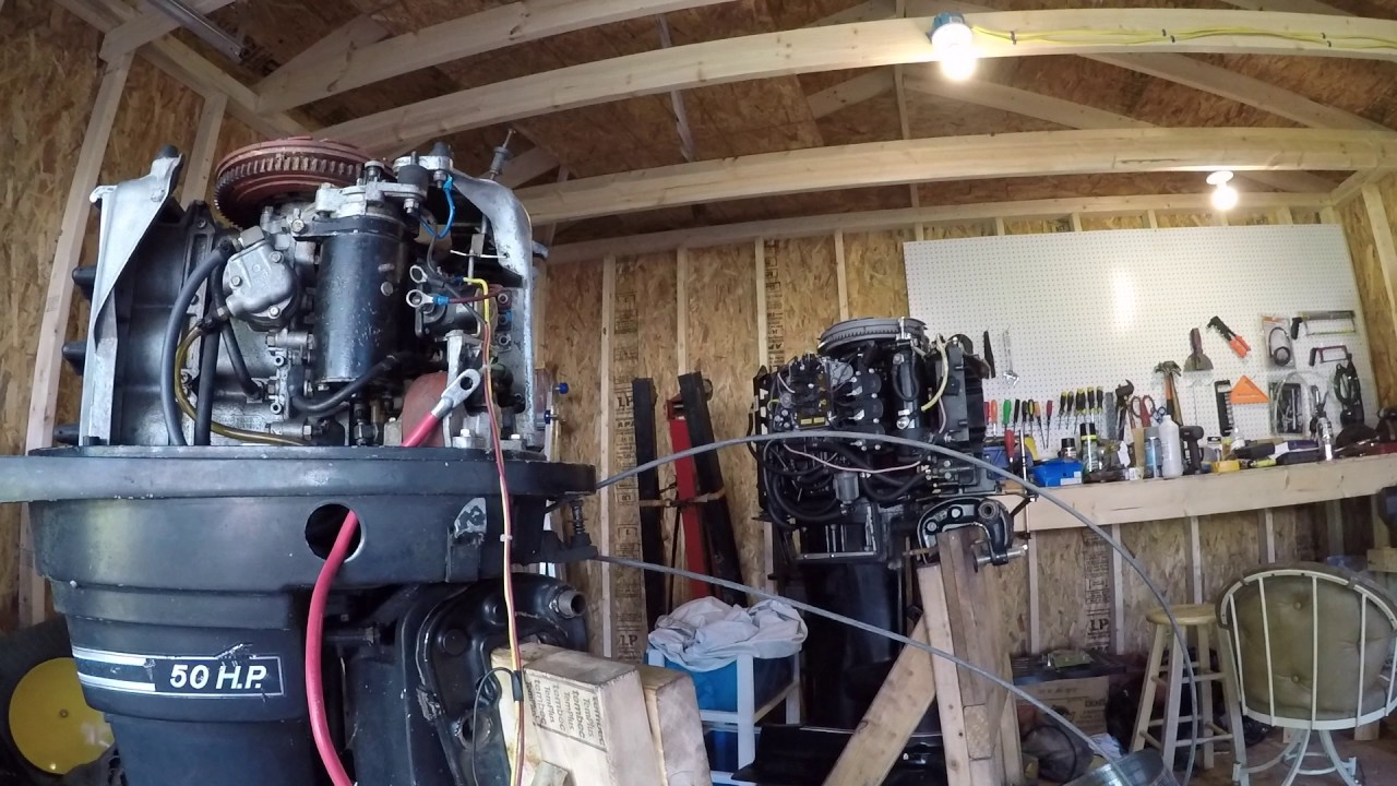 mercury outboard thunderbolt 500 50 hp part 1 inspection and disassembly [ 1280 x 720 Pixel ]