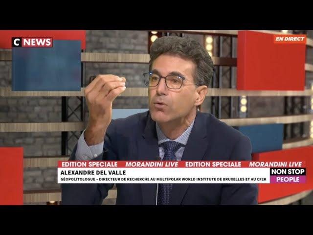 Alexandre del Valle sur CNEWS chez Morandini sur Samuel Paty