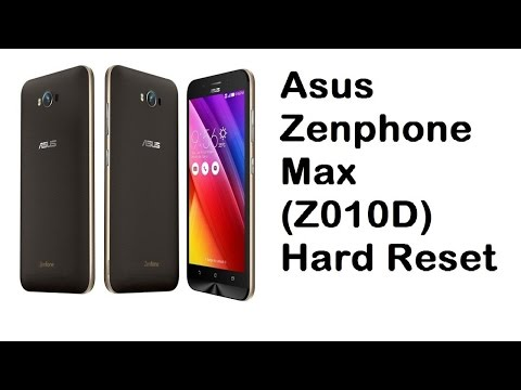 How To Hard Reset Asus Zenfone 3 Max Z010D Solution in Hindi