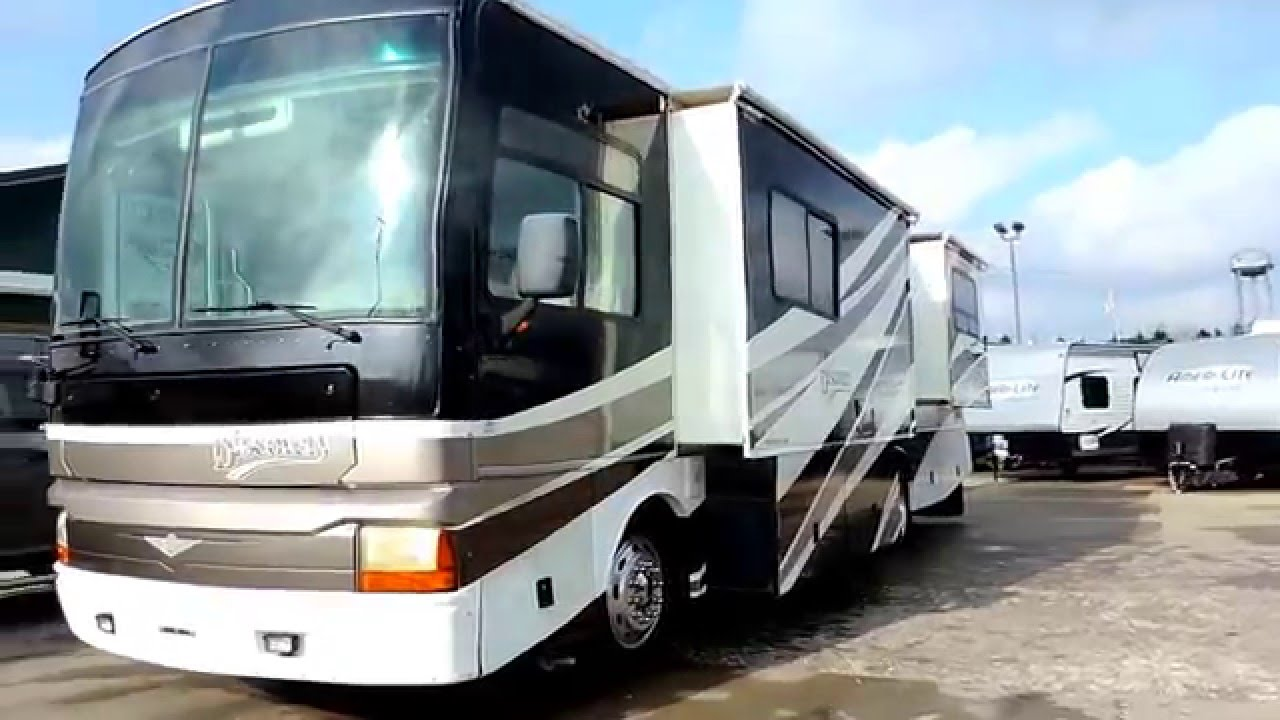 2003 Fleetwood Discovery Wiring Diagram Detailed Diagrams 99 Very Nice 36 35m 2 Slides 330hp Cummins Cat 3126 Engine