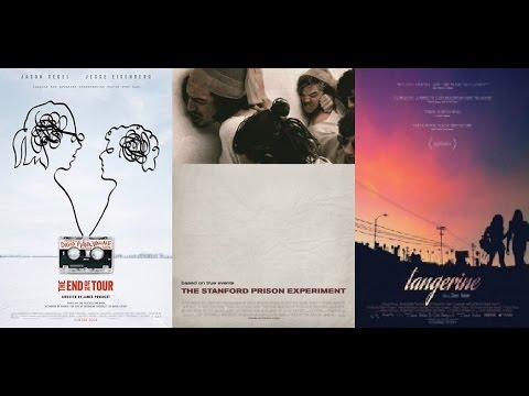 AJ's Movie Reviews: The End Of The Tour, The Stanford Prison Experiment, Tangerine & More!(12-5-15)