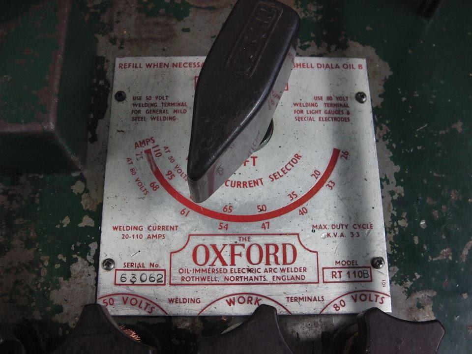 maxresdefault oxford arc welder youtube oxford welder wiring diagram at arjmand.co