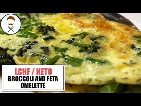 Broccoli & Feta Omelette || The Keto Kitchen