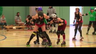 South West Angels of Terror VS Plymouth City Roller Girls - Grand Bashional - 6 April 2013