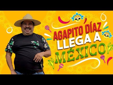Agapito Díaz Llega A México