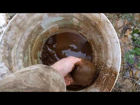 Чистка скважины с ВИБРАцИОННЫМ насосом