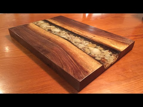 Make an EPOXY River Serving Board! Easy!