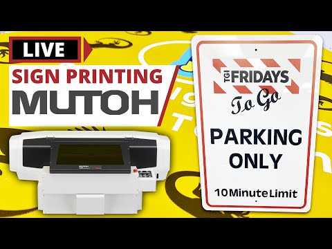 How to Print a Custom Metal Sign   Mutoh ValueJet Webinar