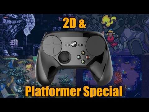 Platformer and 2D Games Special on Valve's Final Steam Controller