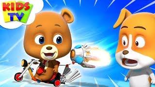 Alex 's Bike | Loco Nuts Videos For Kids | kids  tv Cartoons | kids tv videos